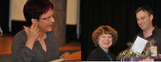 Frauke Suhr (links) und Christine Vogel treten ihren verdienten Ruhestand an.