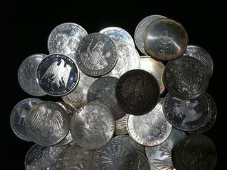 Silbermünzen-Ankauf & Silbermünzen-Auktion in Bielefeld - NRW.