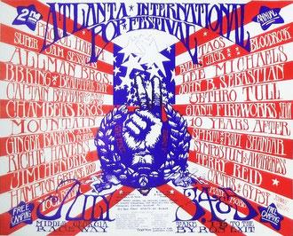 Cartel original del festival.