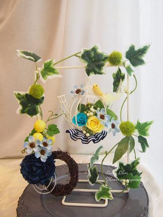 「tea pot & corsage」