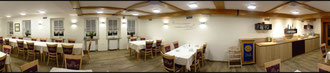 unser Tagungsraum mit ca. 60 m²