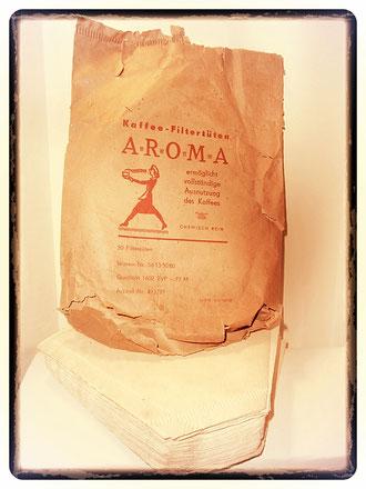 Kaffee-Filtertüten-Aroma 1960
