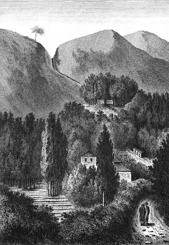 Vue de la montagne Mey-lin