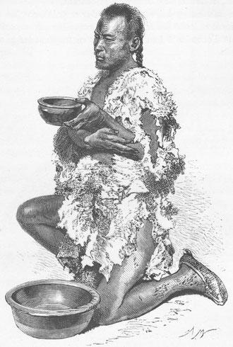 Mendiant, d'après une photographie du docteur Morache.