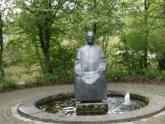Kneippbrunnen in Dillingen an der Donau (Foto: Stefan Seidl)
