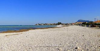 Strand zwischen Denia und Els Poblets