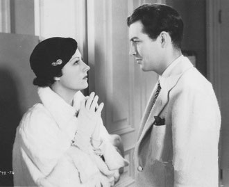 """Robert Taylor did well in """"Magnificent Obsession,"""" but it was the appealing role of Irene Dunne that was outstanding."""