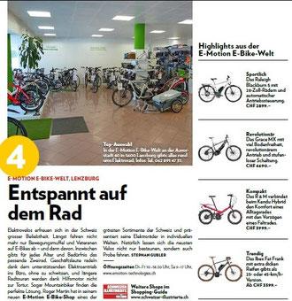 Schweizer Illustrierte e-Bikes