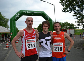 v.l.:Jörg Haarmann, Alexander Henne, Markus Mockenhaupt