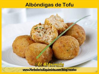 Albóndigas de Tofu Herbolario Alquimista