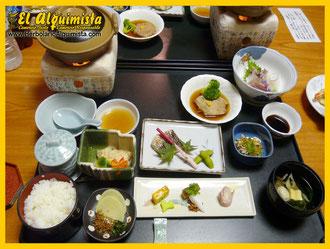 Presentación de comida japonesa - Herbolario el Alquimista Arrecife Lanzarote