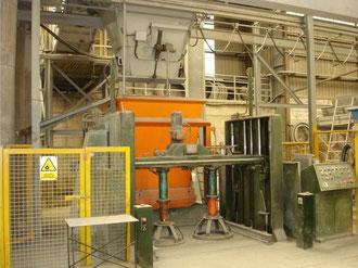 Maquina tubos de hormigón