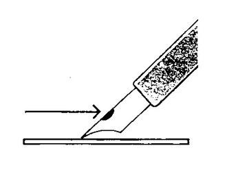 つけペンでの描き方