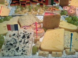 Käseplatte,Frankreich,Italien,Deutschland,Demeter,Bio,Ziegenkäse