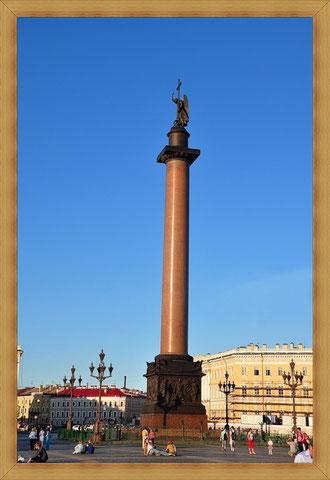 Александровский столп самая высокая триумфальная колонна.