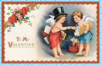 Открытка с Днём Святого Валентина