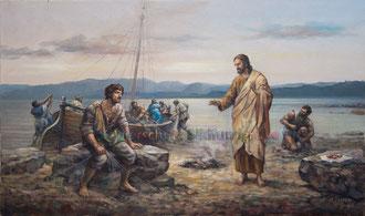 Jesus bei den Fischern