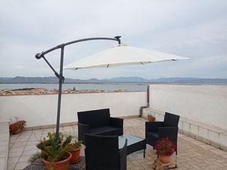 """""""The Belvédère"""" avec terrasse privatif et vue sur le Lagune et sur le Golfe de Palmas"""