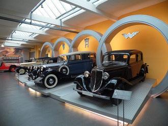 Impression von Patrick´s Besuch im Horch Museum am 20.11.2013