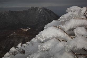 中岳の樹氷