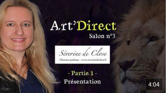 Séverine de Close sur Art'direct
