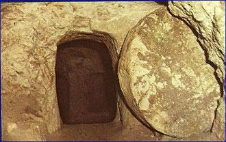 LA TUMBA VACIA SIMBOLO DE LA RESURRECCION DE JESUCRISTO