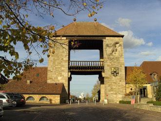 Portal zur Südpfalz oder zum Elsaß - je nach Fahrtrichtung