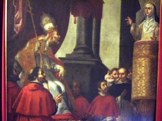 Santa Catalina de Siena, Monasterio Santa Mª la Real