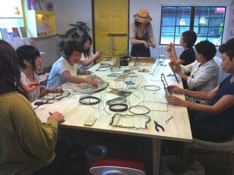 ダブルレインボーワイヤーフレーム作りクラス