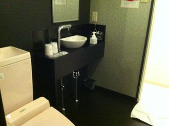 福岡市ホテルアッシュの洗面所