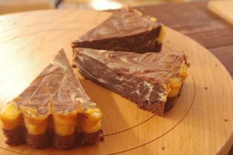 糸島フルーレチョコチーマーブルケーキ