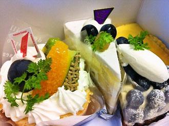 八女市エスカルゴケーキ