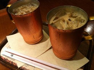 上島珈琲黒糖ミルクコーヒー