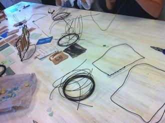 ワイヤーフレーム作りクラス材料