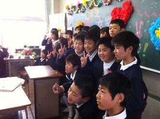 八女市立福島小学校卒業式