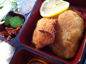 亀の井白身魚ランチ