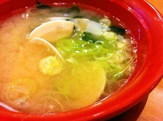 かっぱ寿司お味噌汁