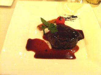 アトリエ・オキお肉のコースメイン