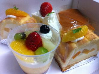 八女隆勝堂ケーキ