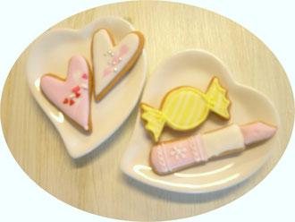 アイシングクッキーハート