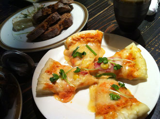 めんたいピザ