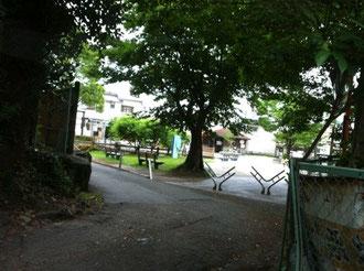 筑後市羽犬塚の公園