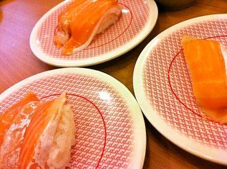 かっぱ寿司サーモン