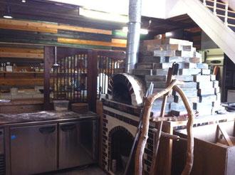 ウッドスタイルカフェ石窯