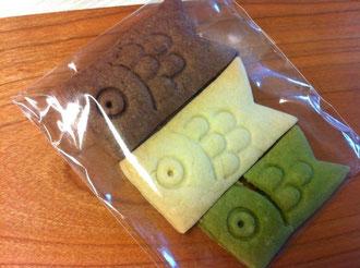 鯉のぼりのクッキー