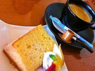 筑後市アンプデザートとコーヒー