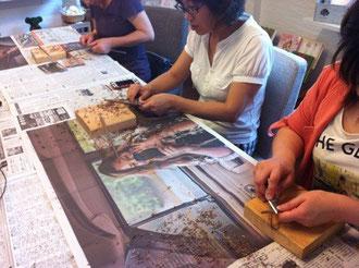 木のお箸作りクラス