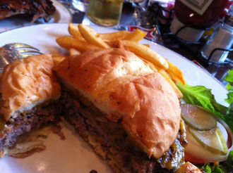 ハードロックカフェハンバーガー