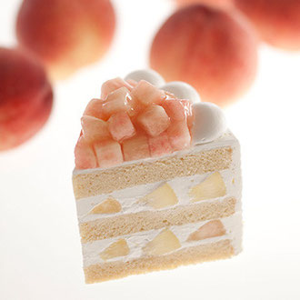 スーパーピーチショートケーキ