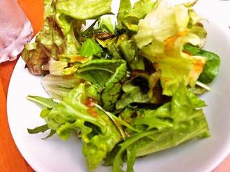 ビストロタケノヤ サラダ